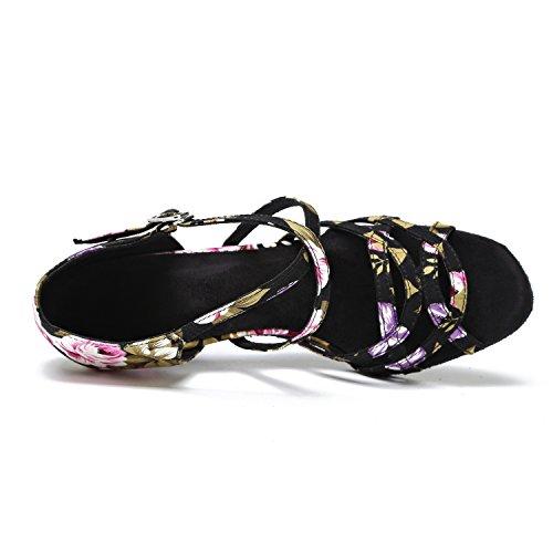 Minitoo , Salle de bal femme Black-7.5cm Heel