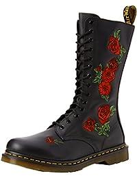 Dr. Martens VONDA Embroidery Damen Bootsschuhe