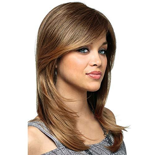 Ysy Hollywood Lady Perücke Lange Flauschige Haarperücke