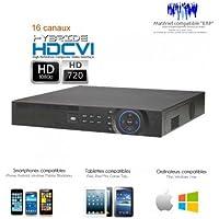 DVR Dahua–Registratore 16canali professionale, Full 720P HDCVI, supporta 2dischi rigidi per backup specchio–dvr-d275