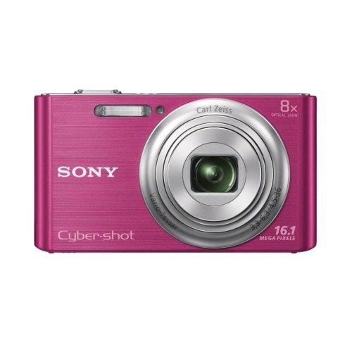 Sony Cyber-shot W730 Fotocamera compatta 16.1MP 1/2.3' CCD 4608 x 3456Pixel Rosa