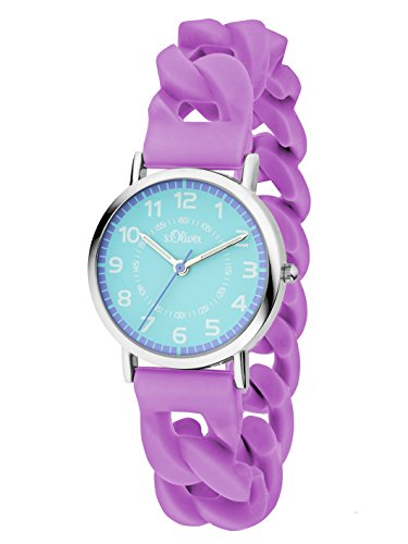 s.Oliver Time Mädchen-Armbanduhr SO-3428-PQ