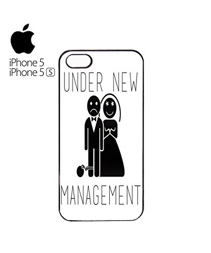 Under New Management Married Game Over Mobile Phone Case Back Cover Coque Housse Etui Noir Blanc pour for iPhone 5c Black Blanc