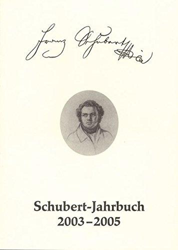Schubert-Jahrbuch 2003-2005: 67/2003-2005