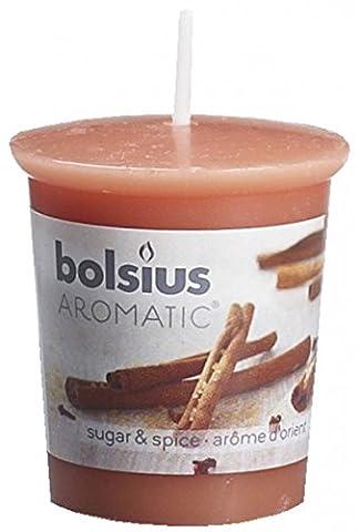 Bolsius Sugar and Spice 53 / 45mm Votivkerze
