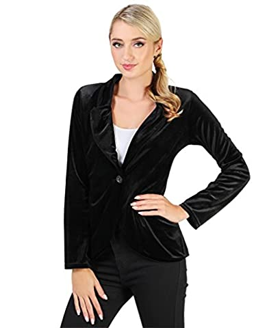 9365-BLK-S: Luxe Tailored Velour