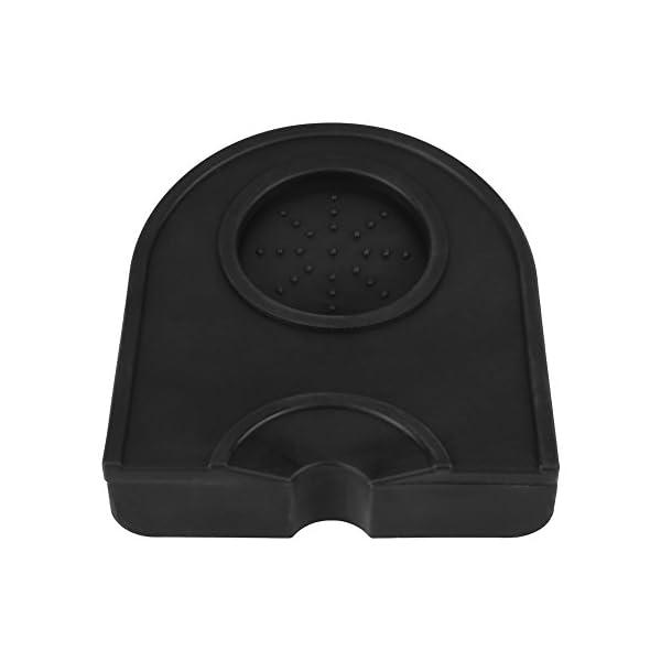 Tappetino in Silicone per Caffè Nero Pad Antiscivolo Antimacchia Resistente allUsura per Macinacaffè