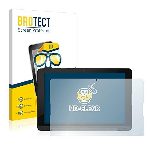 BROTECT Schutzfolie kompatibel mit LG G Pad 3 10.1 [2er Pack] klare Bildschirmschutz-Folie