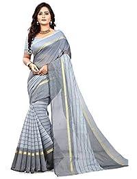 3adb206536 Navya Fashion Women s Poly Cotton Sarees (nav400 Multi-Coloured Free Size)