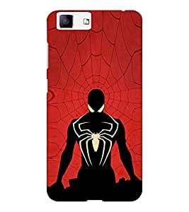 EPICCASE The web swinger Mobile Back Case Cover For Vivo X5 (Designer Case)