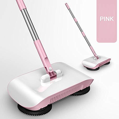 fllyingu Teppichkehrer, Handkehrmaschine, Boden- und Teppichkehrmaschine, Wischmaschine, sauberer Boden, für Teppich- und Bodenreinigung -