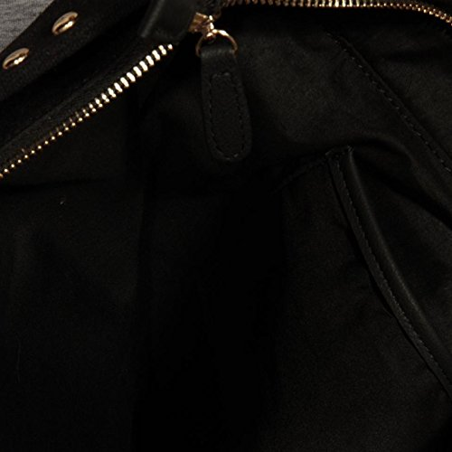 83202 borsa shopping FUN IS NOT EXPENSIVE borsetta donna bag women Nero