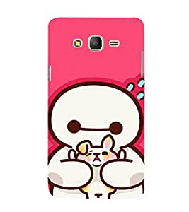 EPICCASE Cute Teddy cover Mobile Back Case Cover For Samsung Galaxy E7 (Designer Case)