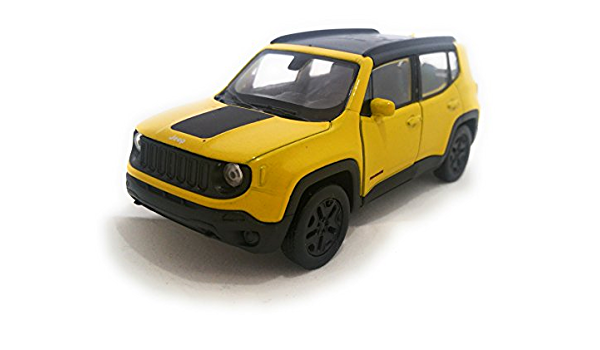 Empiretoys Jeep Renegade Trailhawk Gelb Welly 1 34 1 39 Spielzeug