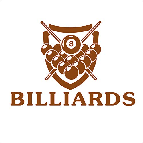 guijiumai Dctal Billiards Sticker Snooker Decal Posters Vinyl Wall Decals Parede Decor Mural Billiards Stic 3 80x118cm
