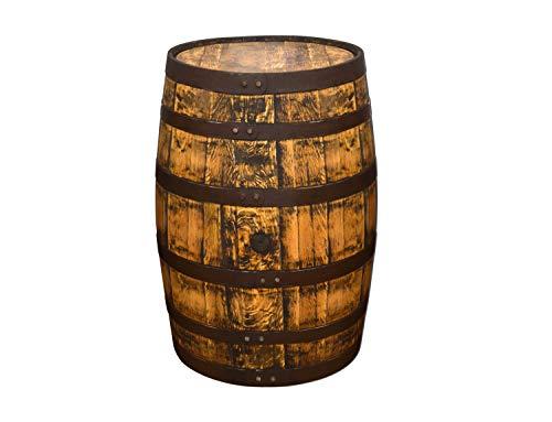 Temesso Originales schottisches Whiskyfass, Holzfass, Whisky Fass, Schnapsfass - angeschliffen - 190L (Oberfläche geölt)