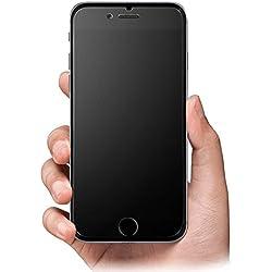 iPhone 6 6S Verre Trempé Protection d'écran Mat antireflet anti-traces 9H Film en verre trempé transparent Lisse comme de la soie