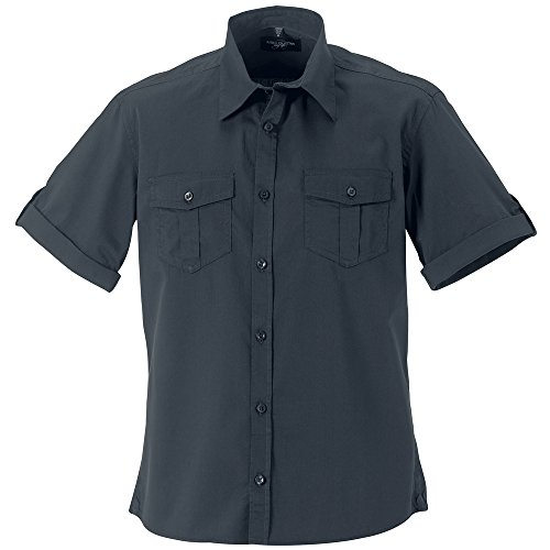 Russell Collection - Chemise business - Homme Gris - Zinc