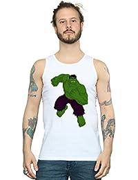 Marvel Hombre Hulk Pose Camiseta Sin Mangas