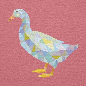 Texlab–Poly Duck–sacchetto di stoffa Pink