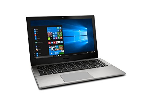 "Medion S3409- Ordenador portátil 13.3"" FullHD (Intel Core i7-7500U, 8GB RAM, 256GB SSD, Intel HD Graphics, Windows 10) plata. Teclado QWERTY español"