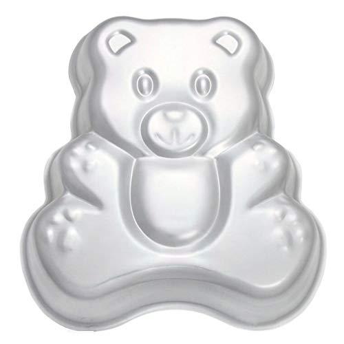 wdyjmall 25,4cm/26cm Bär geformte Aluminium 3D Kuchen Form Backform Dose Kuchen, Pfanne-Bär