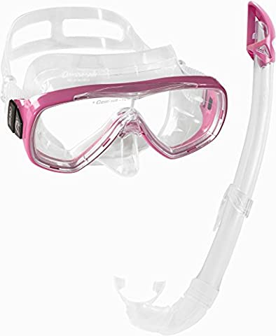 Cressi Snorkel Mask Set Adult - Snorkeling Equipment