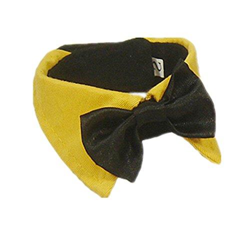 Art Und Weise Liebenswert Haustier Hund Katze Krawatte Kragen - Gelb, XL