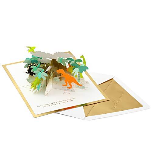 Hallmark Signature Paper Wonder Pop Up Geburtstagskarte (Dinosaurier)