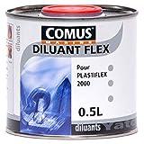 DILUANT FLEX 0,5L - Diluant pour peintures pneumatiques - COMUS MARINE