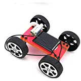 D DOLITY DIY Solar RC Auto Car Fahrzeug Montage Modell Lernspielzeug für Kinder - Rot