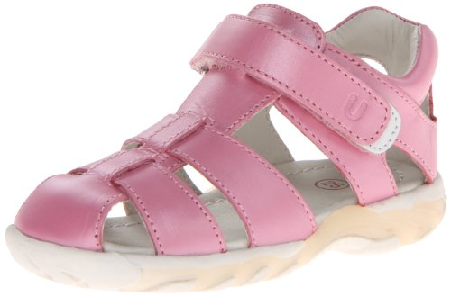 Umi Verity, Girls' T-Bar Sandals, Pink (Fuchsia), 5.5 Child UK (22 EU)