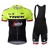 Sports Thriller Rider XiXiMei EU Stile 12 Mountain Bike Abbigliamento Manica Corta per Uomo Ciclismo Magliette Manica Corta e Pantaloncini Combinazione Medium