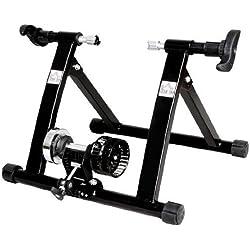 Rodillo Entrenamiento Bicicleta Acero Cicloentrenador Negro Bici Interior Ciclismo