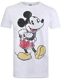 Disney Men's Vintage Mickey T-Shirt