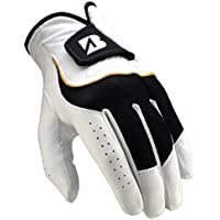 Bridgestone Handschuh - Guantes de golf para hombre, tamaño M, color blanco