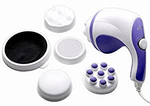 EASY DEAL INDIA RELAX TONE BODY MASSAGER WITH 5 ATTACHMENTS