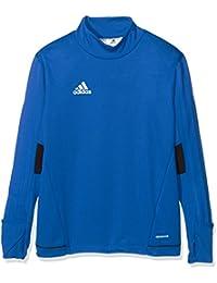 adidas Tiro17 TRG Y Camiseta, niños, Azul (Maruni/Blanco), 152