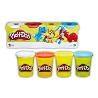 Play-Doh 4-Pack of Colours Assortment (Assorted 14073)