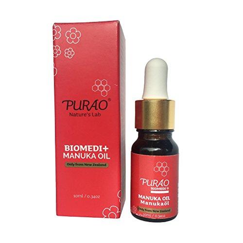 PURAO BIOMEDI+ 100% Manuka Öl konzentrieren für Leichte und Chronische Hautkonditionen