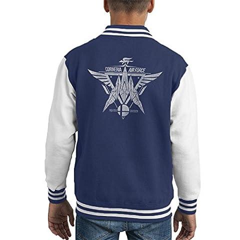Star Fox Squadron Corneria Air Force Kid's Varsity Jacket