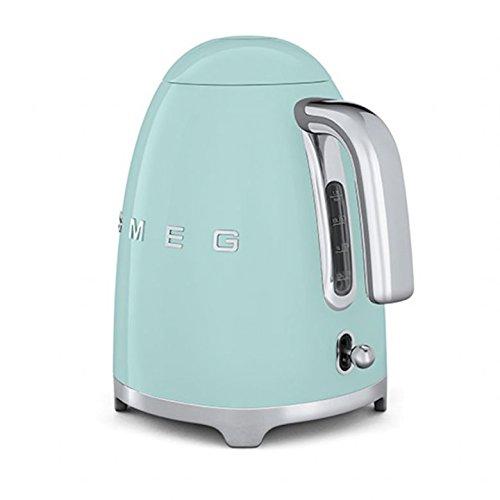 Smeg TSF01PGUK KLF01PGUK | 50s Retro Style 2 Slice Toaster & Kettle Set in Pastel Green