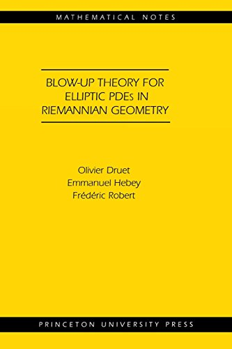 Blow-up Theory for Elliptic PDEs in Riemannian Geometry (MN-45) (Mathematical Notes)