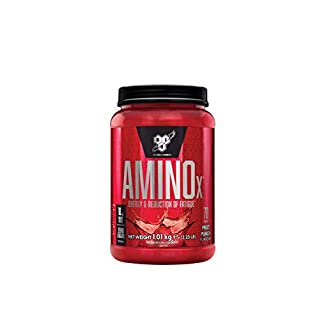 BSN Amino X Muscle Support Powder Supplement with Vitamin D, Vitamin A & Amino Acids. BCAA powder by BSN - Fruit Punch, 70 Servings, 1.01kg