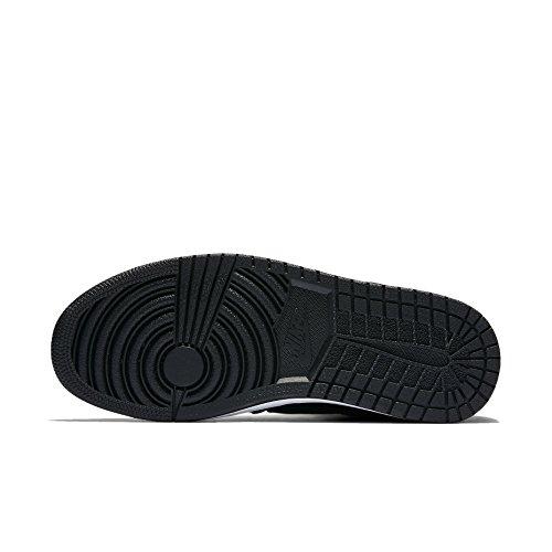 Nike Mens Jordan Heritage Synthetic Trainers Noir
