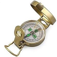 Estilo militar Brunton Classic Lensatic Brújula-Gold , golden