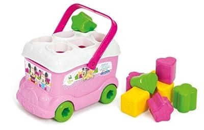 Clementoni - 14933 - Le bus des formes de Minnie - Disney - Premier age