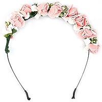 Blume Garland Floral Bridal Stirnband Hairband Hochzeit Prom Haarschmuck