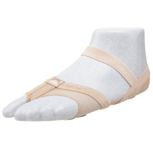 Lyrical Dance Kostüm Ballett - Capezio Damen H07FB Full Body FootUndeez Lyrical/Modern Schuh M Nude