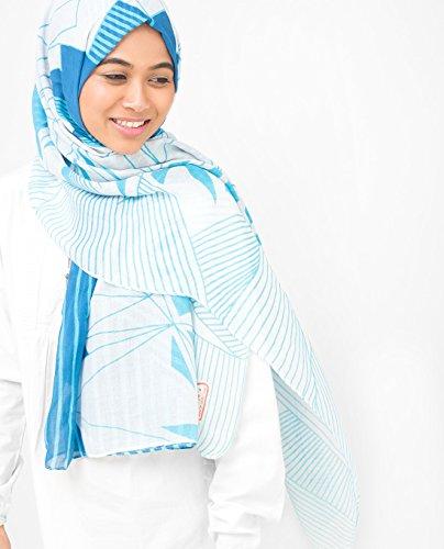 Silk Route -  Vestito  - Donna Imperial Blue & Winter Sky